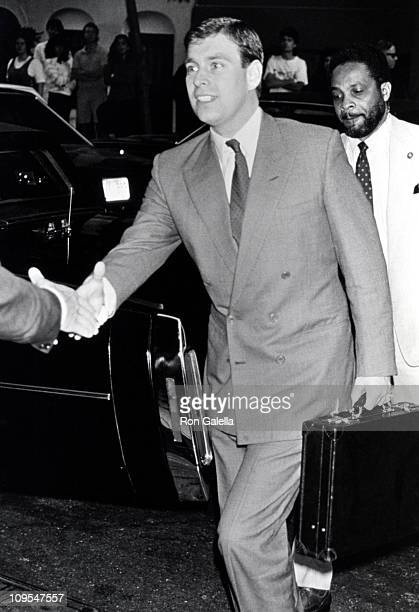 Prince Andrew during Prince Andrew at the Plaza Anthnee - June 1990 at Plaza Anthnee in New York City, New York, United States.
