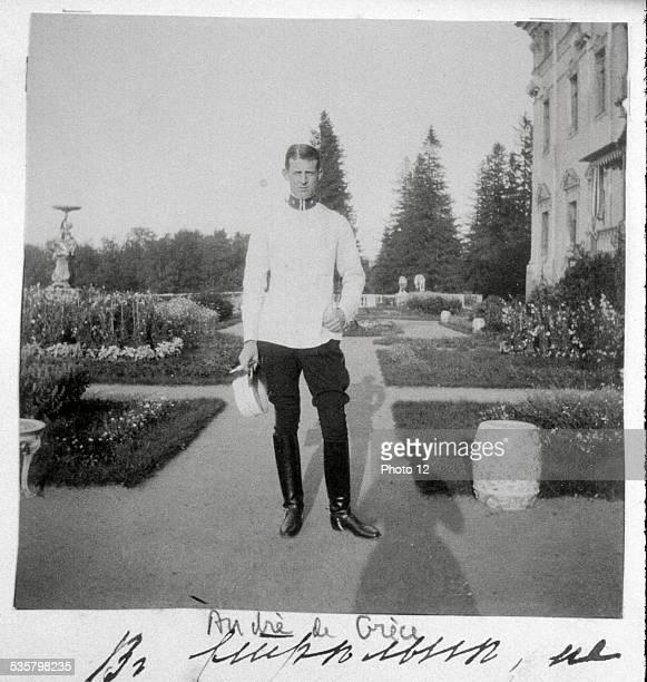 Prince Andrew of Greece, , Married Alice, Princess of Battenberg, in Darmstadt in 1903.
