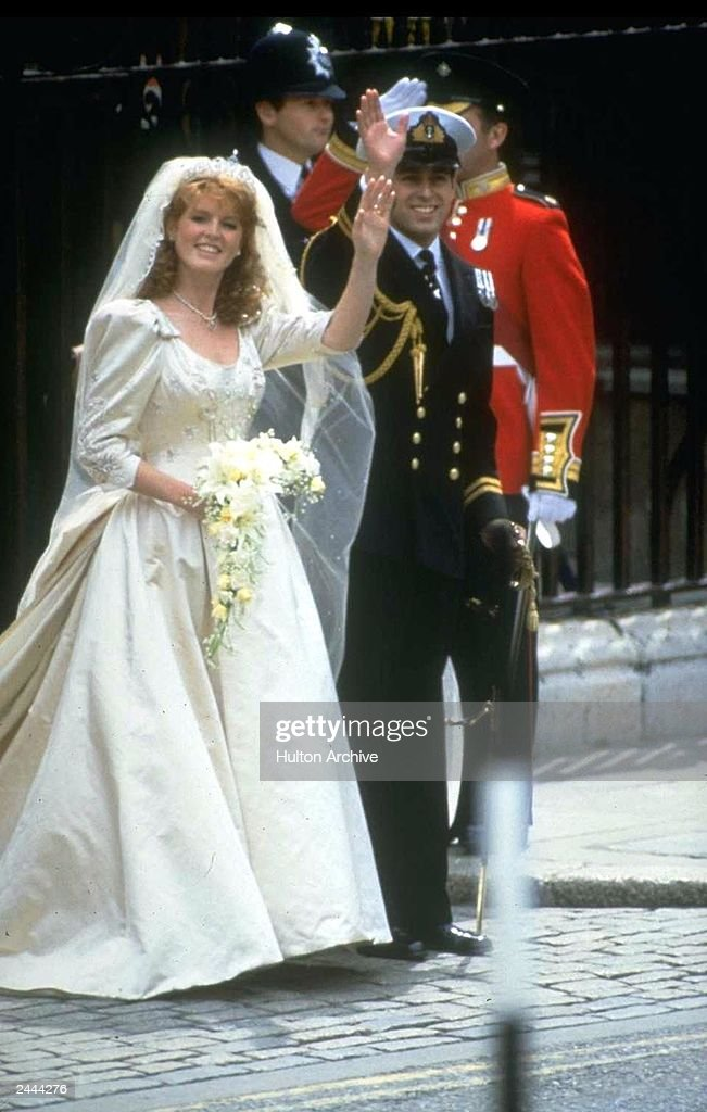 Prince Andrew And Sarah Ferguson Wed : News Photo