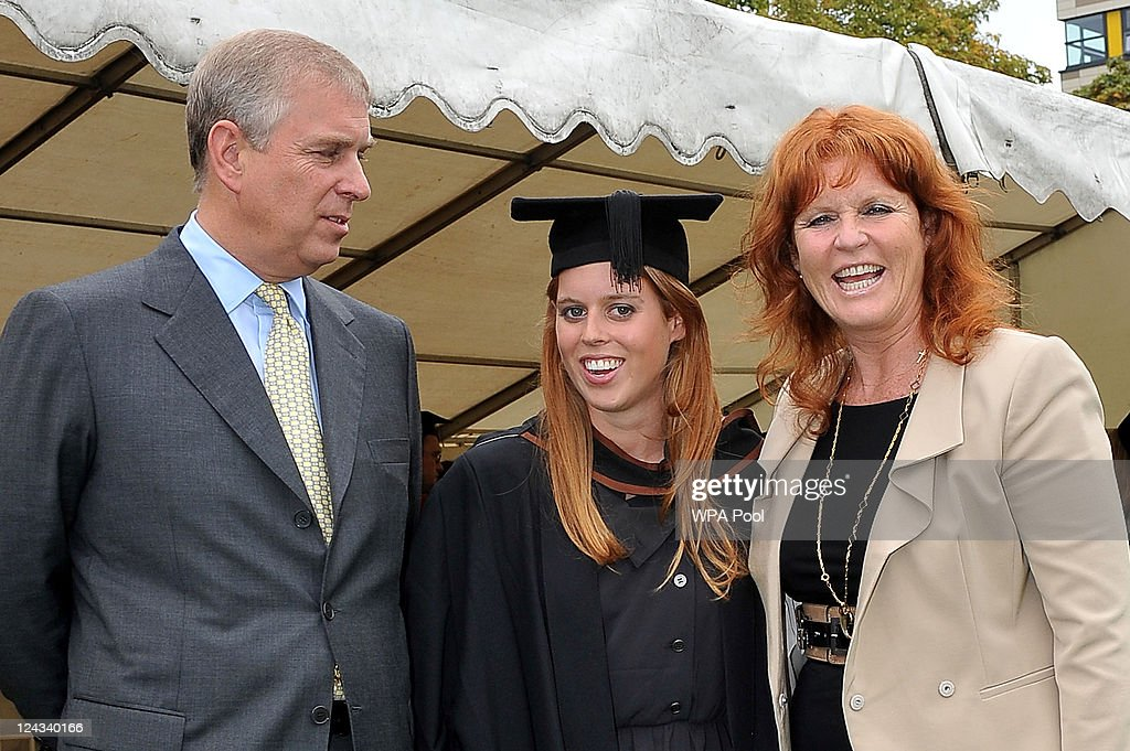 Princess Beatrice Graduation Ceremony At Goldsmith's College London