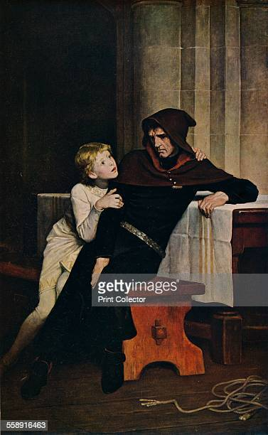 'Prince Arthur and Hubert' 1882 Painting housed in the Manchester Art Gallery From The World's Greatest Paintings edited by T Leman Hare [Odhams...