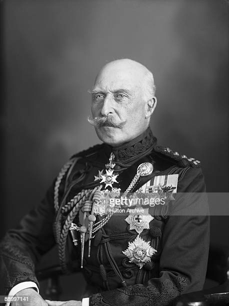 Prince Arthur Duke of Connaught and Strathearn in military uniform circa 1915 The Duke was the third son of Queen Victoria