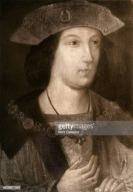 'Prince Arthur, Eldest Son of Henry VII', c1502, . Arthur was married to Catherine of Aragon. When Arthur died, his younger brother Henry VIII...