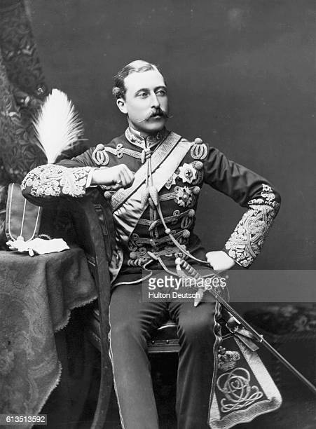 Prince Arthur son of Queen Victoria in the year he was made Duke of Connaught and Strathearn at the age of twentyfour