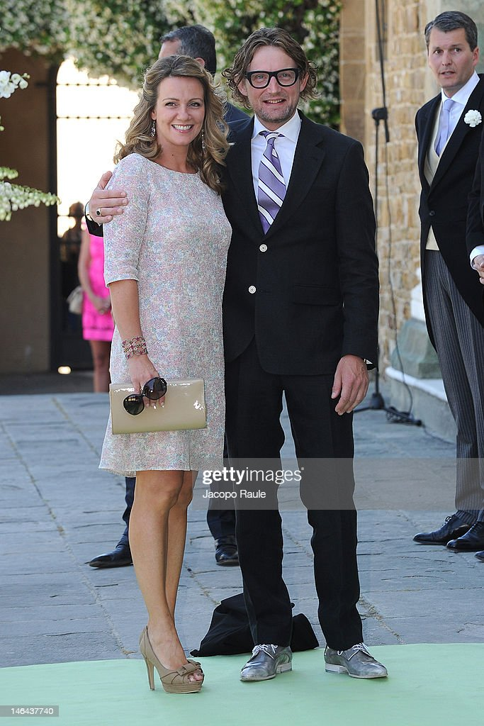 Prince Bernhard and Princess Annette of the Netherlands attend the Princess Carolina Church Wedding With Mr Albert Brenninkmeijer at Basilica di San Miniato al Monte on June 16, 2012 in Florence, Italy.