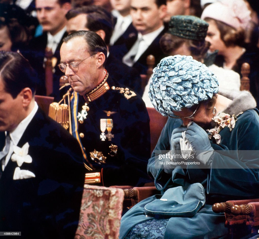 Dutch Royal Family At The Wedding Of Princess Beatrix : News Photo