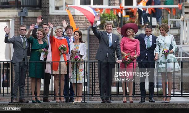R Prince Bernhard jr Princess Annette Prince Constantijn Princess Laurentien Prince Pieter Christiaan Princess Anita King WillemAlexander Queen...