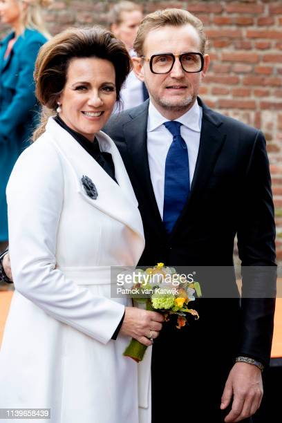 Prince Bernhard of The Netherlands and Princess Annette of The Netherlands attend the Kingsday Celebration on April 27 2019 in Amersfoort Netherlands
