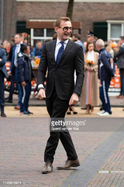 Prince Bernhard of The Netherlands participating in a game of soccer during the Kingsday celebrations on April 27 2019 in Amersfoort Netherlands...