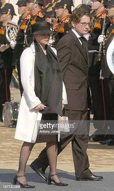 Prince Bernhard Princess Annette Attend The Funeral Of Hrh Princess Juliana Of The Netherlands At The Nieuwe Kerk In Delft