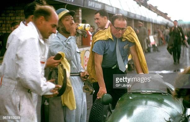 Prince Bira at the British GP at Silverstone 1953