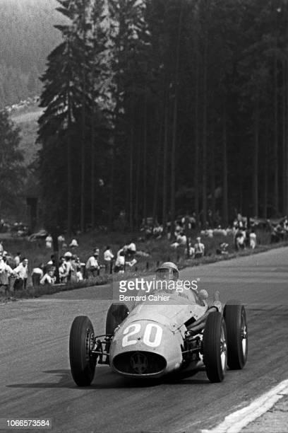 Prince Bira Maserati 250F Grand Prix of Belgium Circuit de SpaFrancorchamps 20 June 1954