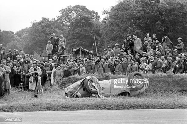 Prince Bira Maserati 250F Grand Prix of Great Britain Silverstone Circuit 17 July 1954