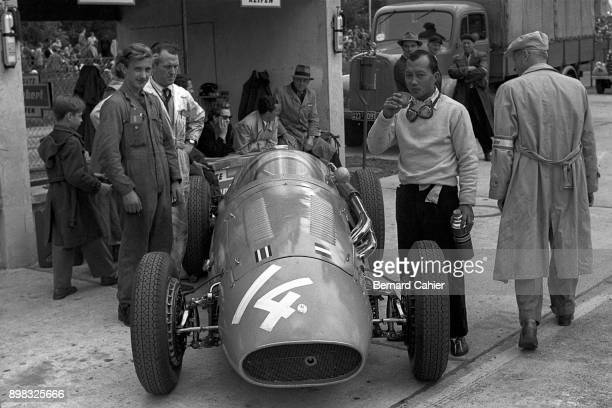 Prince Bira Maserati 250F Tourist Trophy Dundrod 17 September 1955