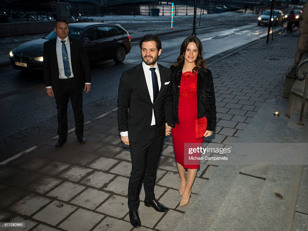 Swedish Royals Attend Royal Swedish Academy of Fine Arts' Formal Gathering : News Photo