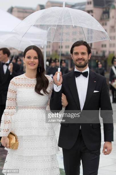Prince Carl Philip and Princess Sofia of Sweden attend a Gala Banquet hosted by The Government at The Opera House as part of the Celebrations of the...
