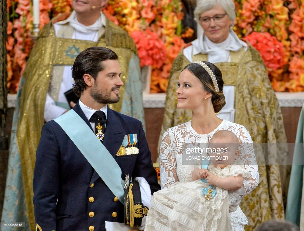 SWEDEN-ROYAL-CHRISTENING : News Photo
