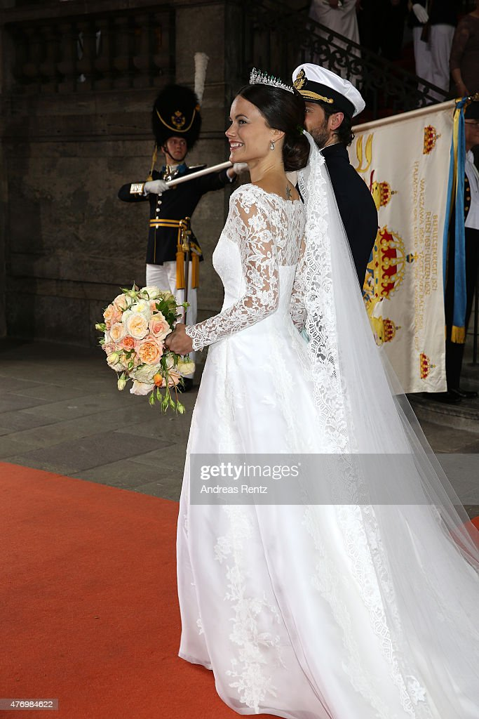 Departures & Cortege: Wedding Of Prince Carl Philip And Princess Sofia Of Sweden : News Photo