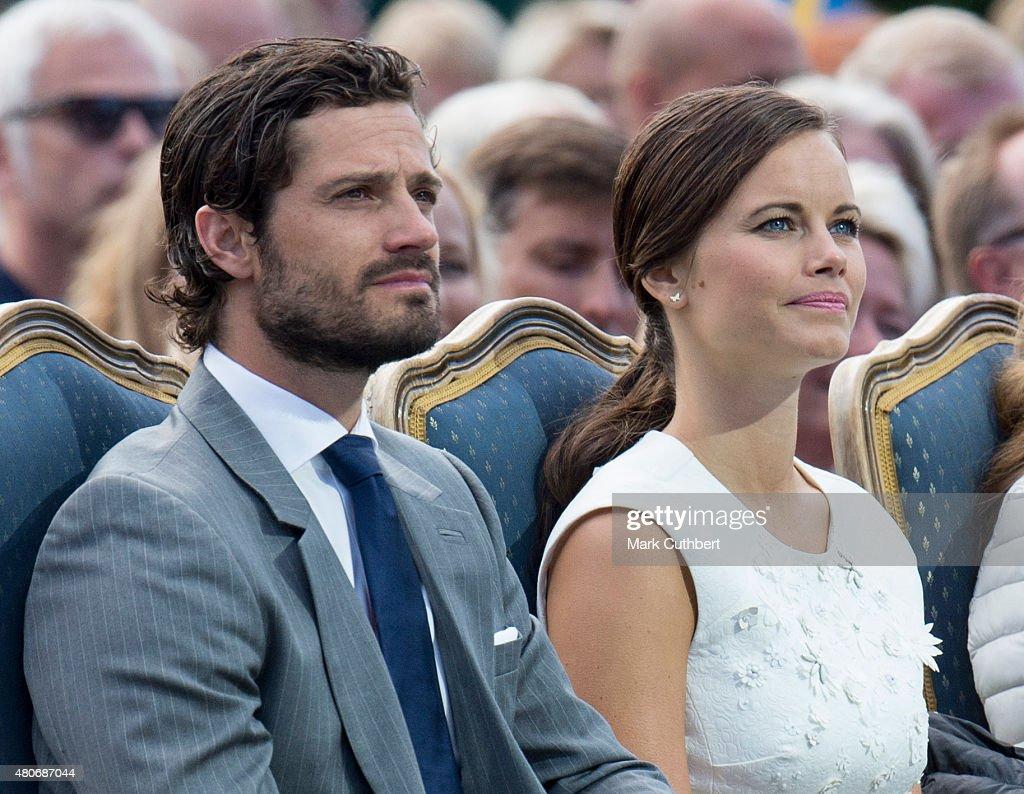 Crown Princess Victoria Of Sweden Birthday Celebritions - Evening Concert : News Photo