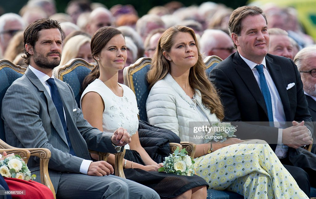 Crown Princess Victoria Of Sweden Birthday Celebritions - Evening Concert : News Photo