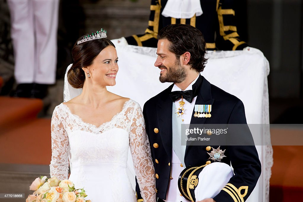Wedding Of Prince Carl Philip Of Sweden And Sofia Hellqvist : ニュース写真