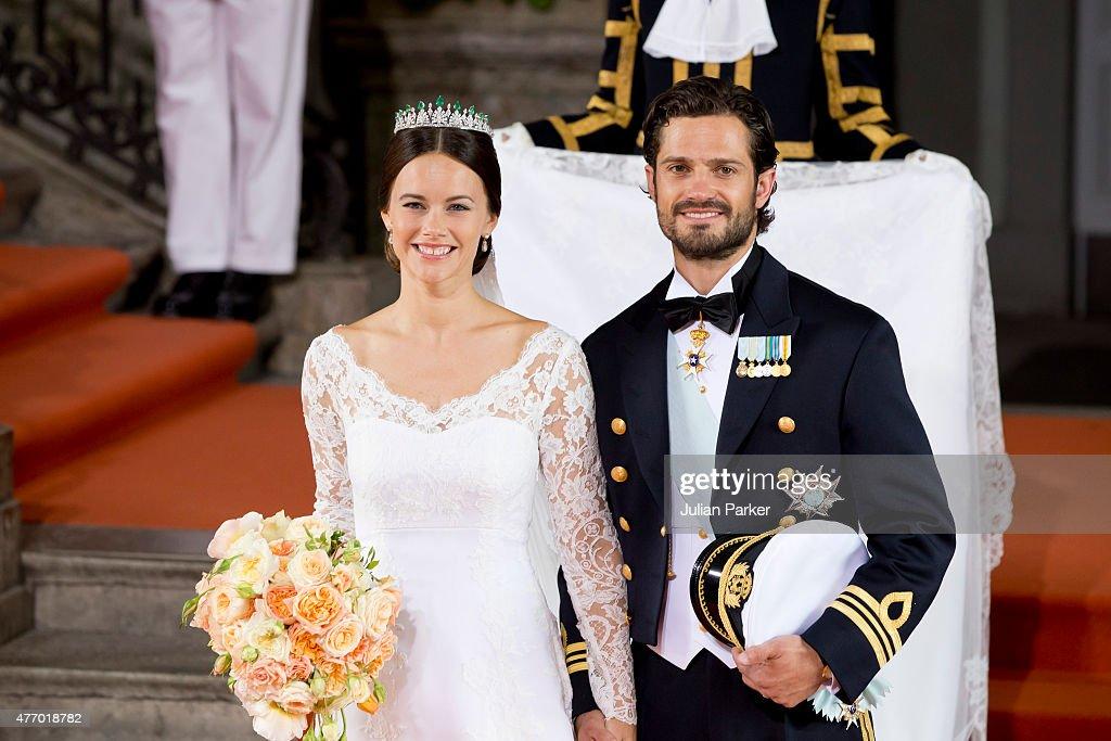 Wedding Of Prince Carl Philip Of Sweden And Sofia Hellqvist : News Photo