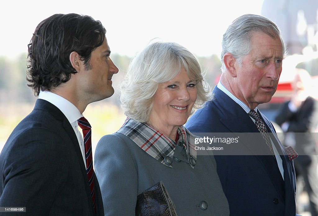 The Prince Of Wales And Duchess Of Cornwall Visit Sweden - Day One
