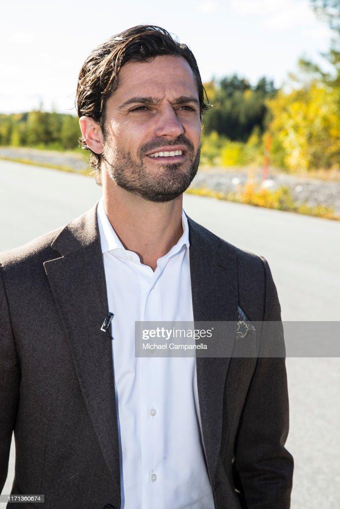 Prince Carl Philip Of Sweden Visits at eRoadArlanda : News Photo