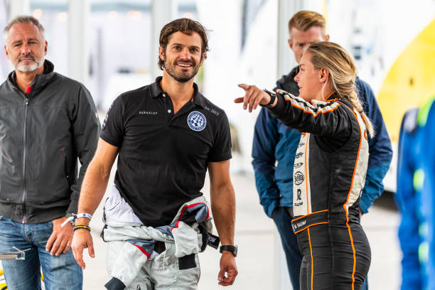 SWE: Prince Carl Philip Attend Karting Competition In Sweden