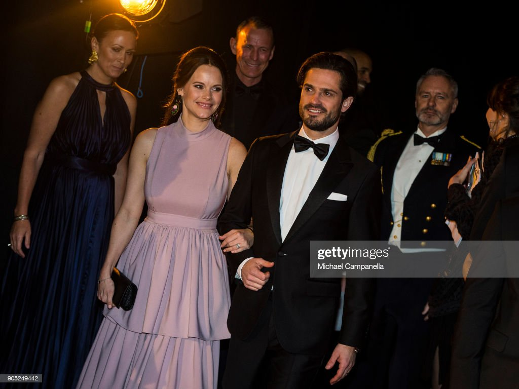 Swedish Royals Attend Sports Gala