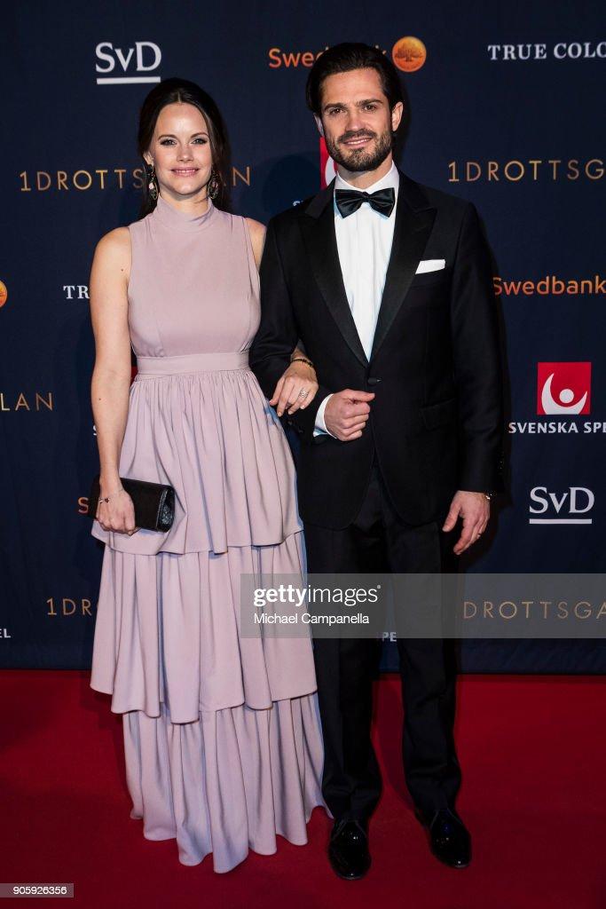 Swedish Royals Attend Sports Gala