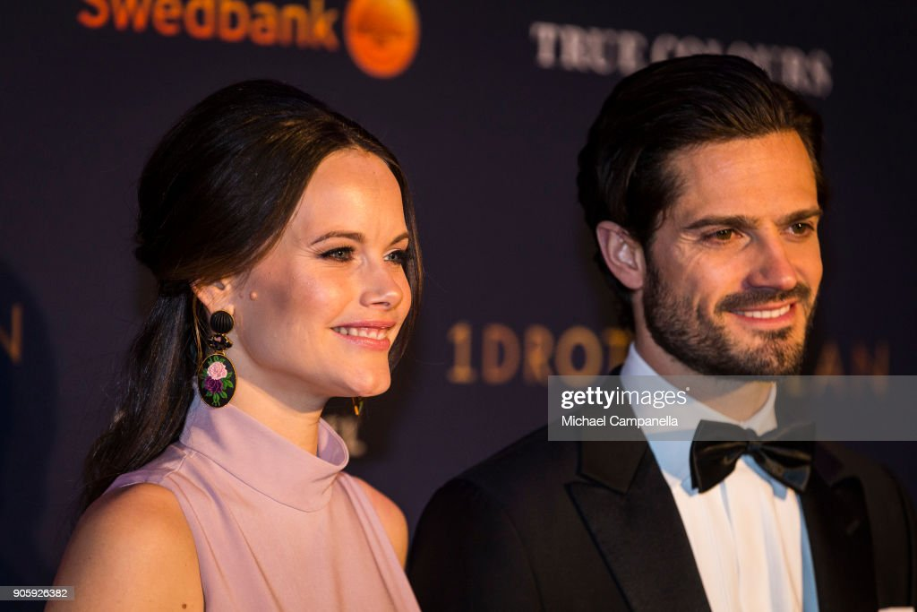Swedish Royals Attend Sports Gala : News Photo