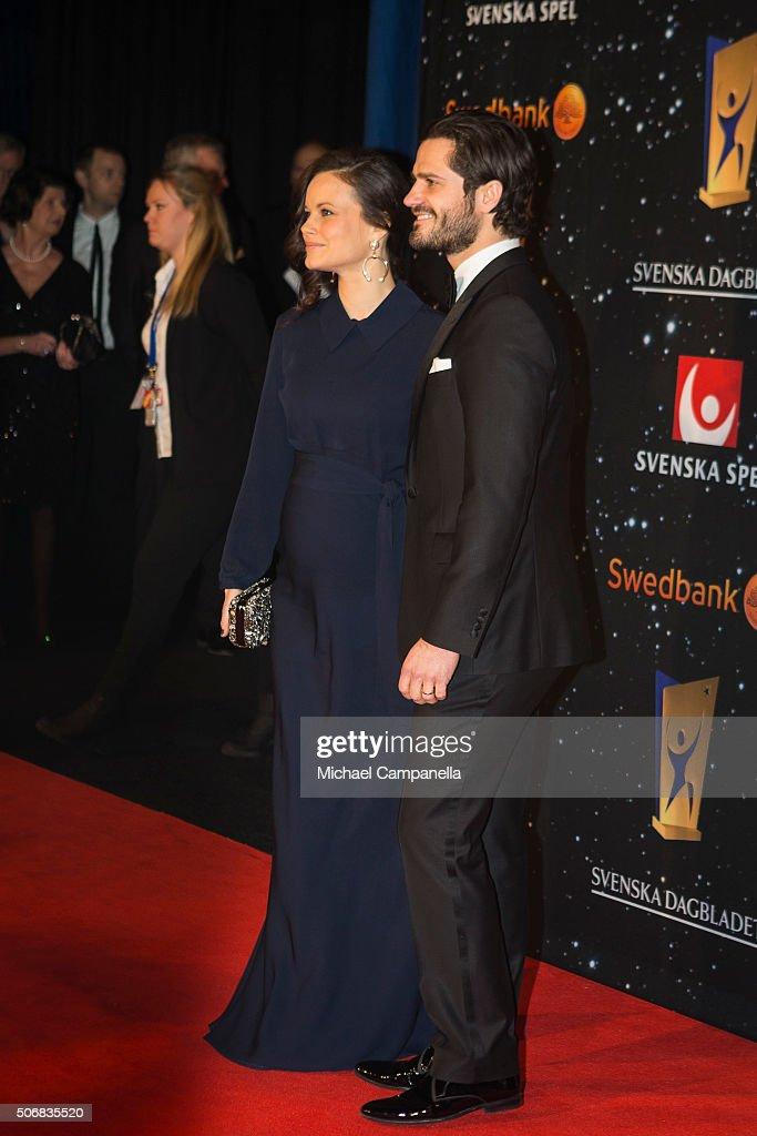 Swedish Royals Attend Swedish Sports Gala : News Photo
