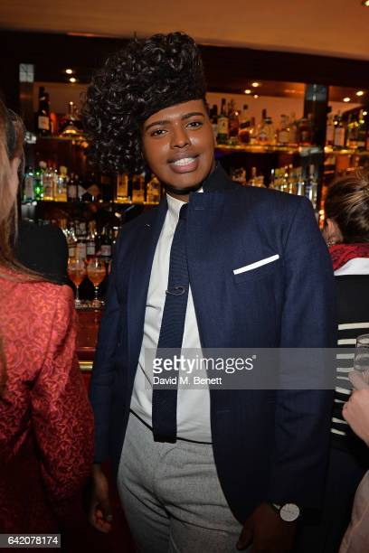 Prince Cassius attends the Victoria Grant x Diana Gomez 'Shoot It Up Knock'em Down' party at the Sanctum Soho on February 16 2017 in London England