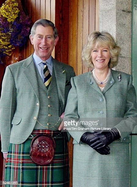 Prince Charles and Camilla ParkerBowles are seen at Birkhall in Scotland in this latest image released by Clarence House on February 10 2005