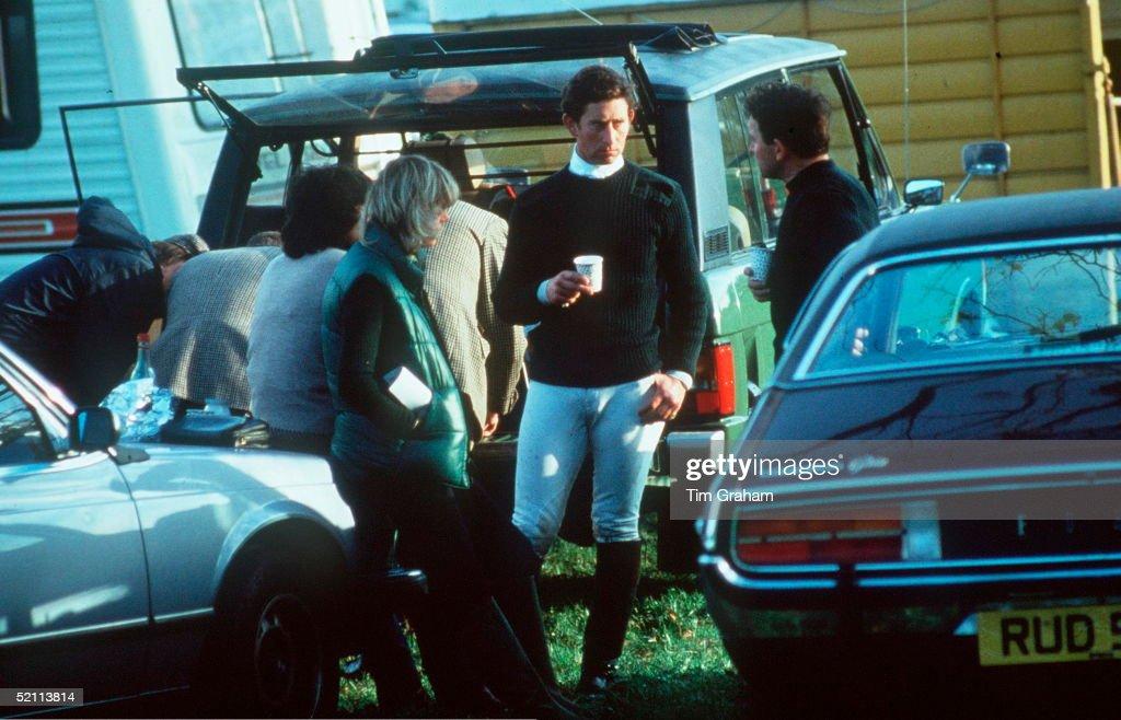 Charles With Camilla In 1979 - Special Fee Applies : Nachrichtenfoto