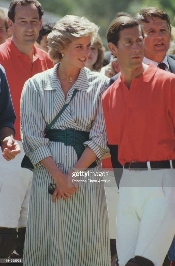 Charles And Diana In Victoria : News Photo