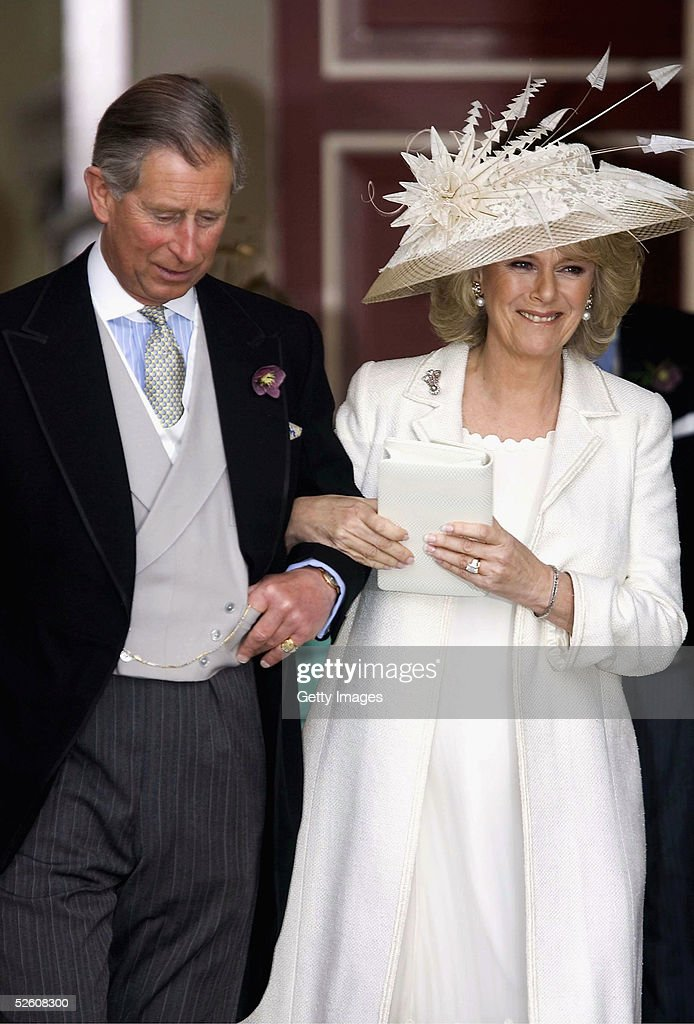 HRH Prince Charles & Mrs Camilla Parker Bowles Marry At Guildhall Civil Ceremony : News Photo