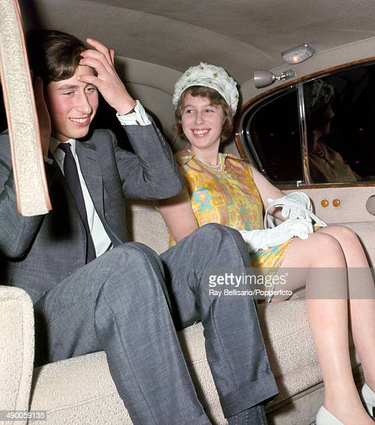 Prince Charles and Princess Anne arrive in Kingston Jamaica for a holiday on 3rd August 1966