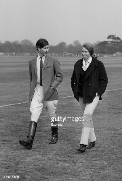Prince Charles and Princess Anne at Windsor Great Park, UK, 15th April 1968.