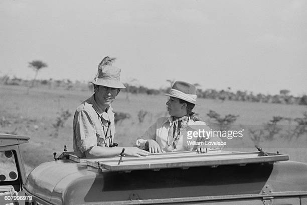 Prince Charles and Princess Anne on safari in Africa 24th February 1971