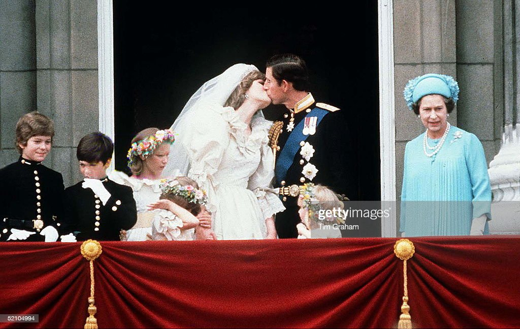 Royal Wedding Charles And Diana : News Photo