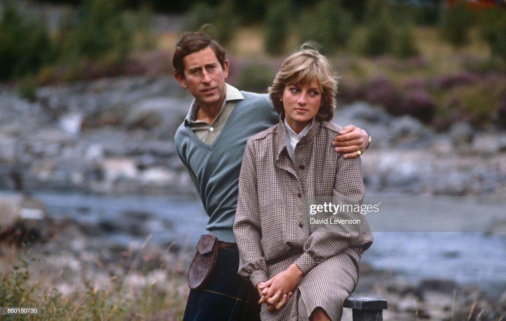 Prince Charles and Princess Diana on their honeymoon : News Photo