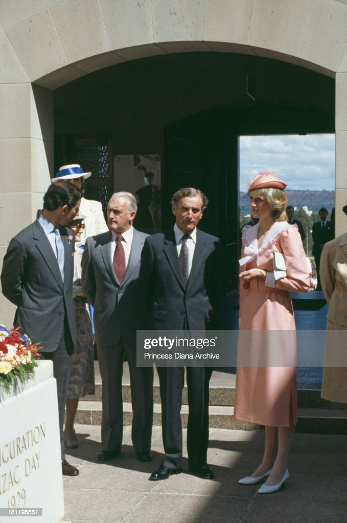 Diana In Canberra : News Photo