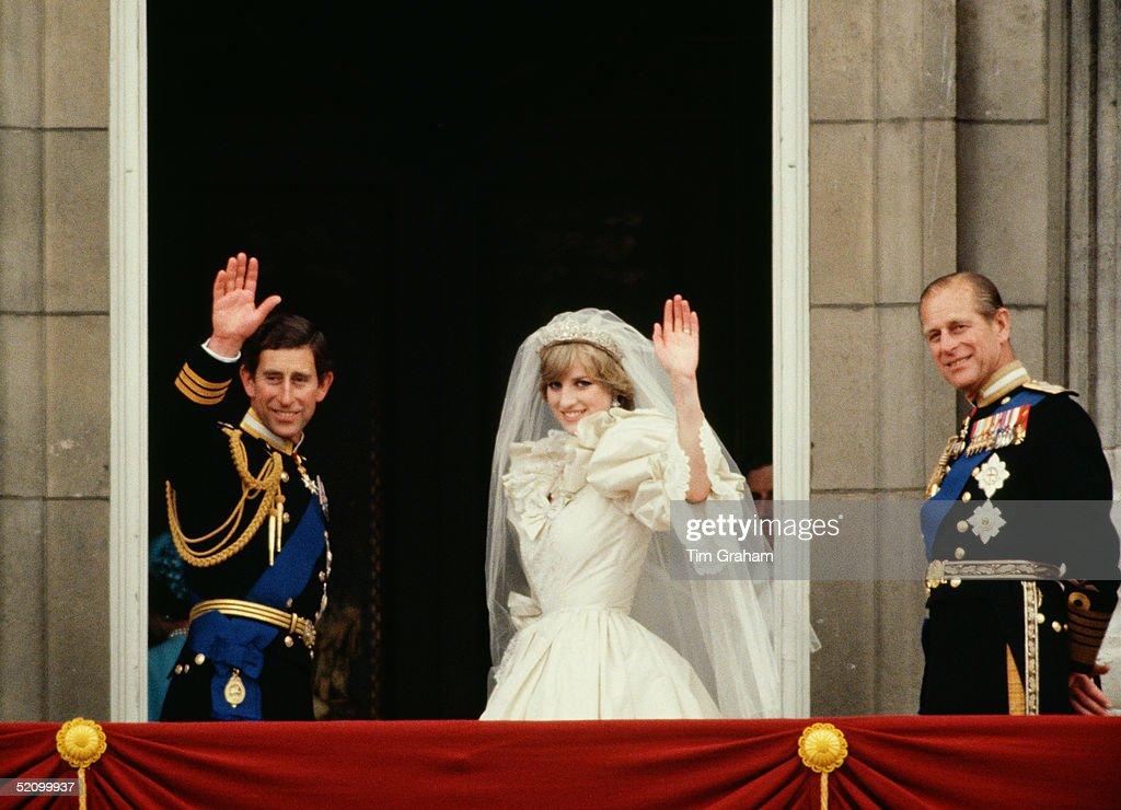 Royal Wedding Prince And Princess Of Wales : News Photo
