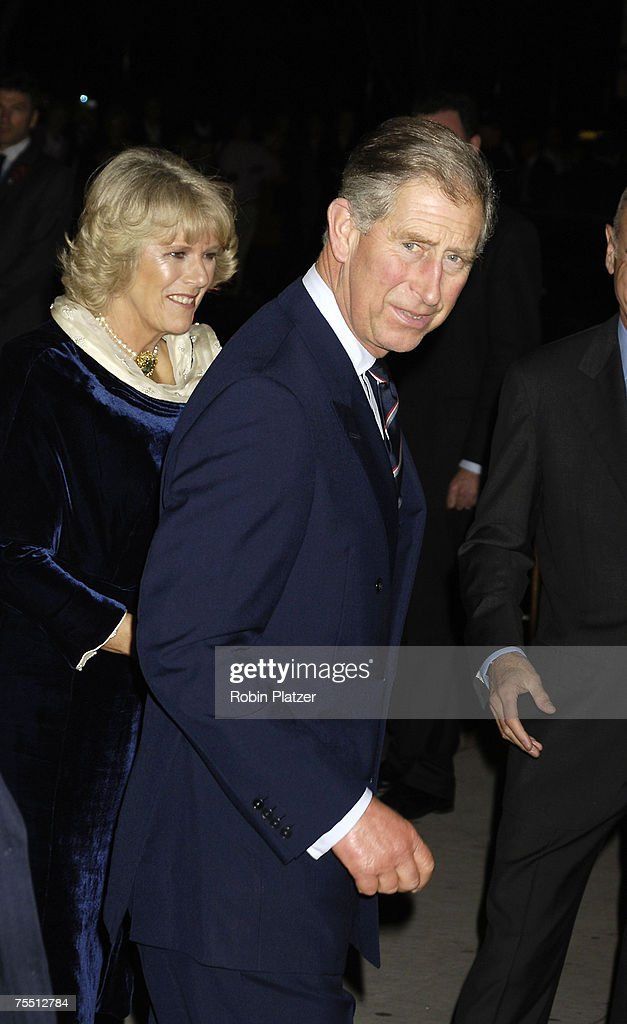 Prince Charles and The Duchess of Cornwall at the Cocktail Party for TRH The Prince of Wales and The Duchess of Cornwall at the Museum of Modern Art - November 1, 2005 at Museum of Modern Art in New York, New York.