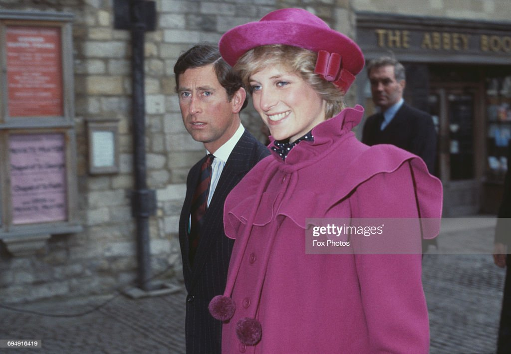 Royal Couple At Westminster Abbey : News Photo