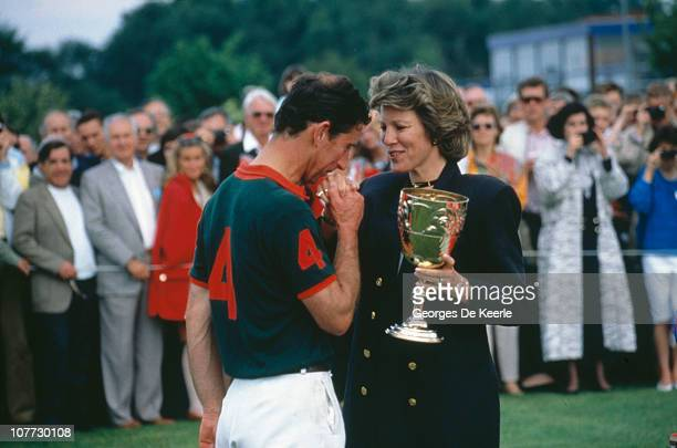 Prince Charles at a polo match 31st May 1987