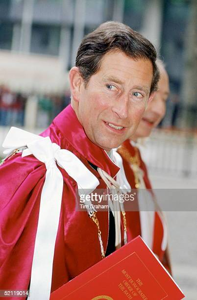 Prince Charles At The Most Honourable Order Of The Bath Ceremony In London