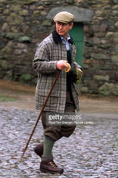 Prince Charles At Yew Tree Farm Bed & Breakfast In The Lake District, Where He Has Been Staying For Two Nights During A Walking Holiday In The Area....